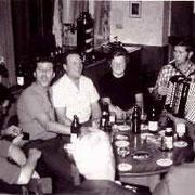 Der letzte offizielle Dachsbau-Abend am 1. September 1972