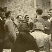 der wiedererstandeneChor der Kolpingfamilie 1955