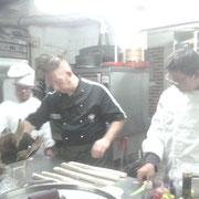 Andrea e Marco con lo Chef Carlo