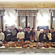 Il team al completo, foto di Todescato Simona