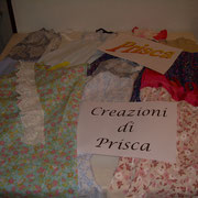 le creazioni di Prisca