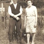 Jean RENAULT et Marie LE BAILL (Trémeur, 1967)