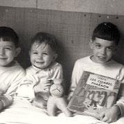 Armel, Jean-Marie et Herve RENAULT (vers 1957)