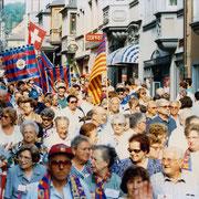 Die Penyistas kamen für 3 Tage nach Schaffhausen