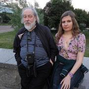 С Андреем Олейниковым другом А Андреевой