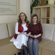 С Маргаритой Майской