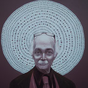 ritratto di SILVIO FRIGERIO,anno 2014,olio su tela