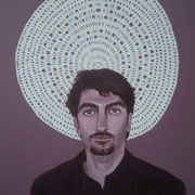 ritratto di MARCO IZZOLINO,anno 2013,olio su tela