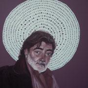 ritratto di BRUNO AYMONE,anno 2014,olio su tela
