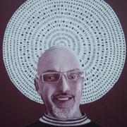 ritratto di CLAUDIO MARCONE,anno 2014,olio su tela