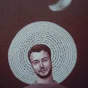 ritratto di ANTIMO PUCA,anno 2014,olio su tela,70 cm x 100 cm