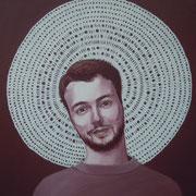 ritratto di ANTIMO PUCA,anno 2014,olio su tela