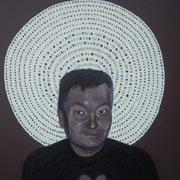 ritratto di ANGELO MARRA,anno 2014,olio su tela