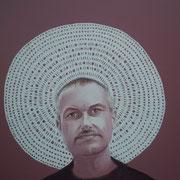 ritratto di VINCENZO SEVERINO,anno 2014,olio su tela