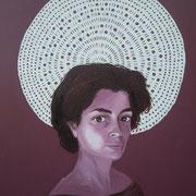 ritratto di BEATRICE SALVATORE,anno 2014,olio su tela