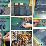 Jeans Orginal kürzen