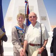 Surprise : l'unique vétéran de Bir Hakeim présent , M. LE TERRIER, Fusilier marin, est originaire du HAVRE. Il réside aujourd'hui à Cherbourg