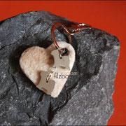Herz mit zwei TT-Schmuckanhänger (45 €*)
