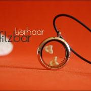 Schatzkammer (Edelstahl) mit Zähnchen an Kautschukkette (28 €*)