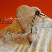 """Schlüsselanhänger """"Herz"""" mit Kügelchen (32 € *)"""
