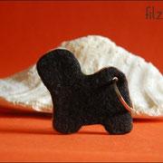 Tibet Terrier ohne Details, ca. B75 x H65 x T5mm (34 € *)