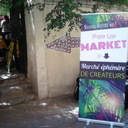 Entrée POP UP MARKET #1