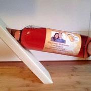 Weinflaschenhalter aus Buche geölt