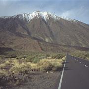 Pico del Teide, Schnee, Teneriffa