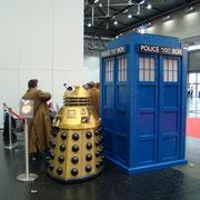 Dalek und TARDIS