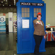 11th Doctor mit TARDIS