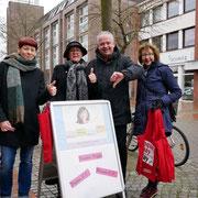 Unterstützer und Unterstützerinnen des Equal Pay Day