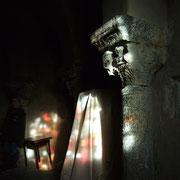 lumières dans la chapelle