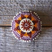 tipi / purple Lサイズビーズコンチョ