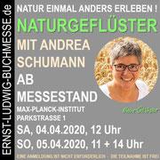 Workshop NATURGEFLÜSTER mit Andrea Schumann