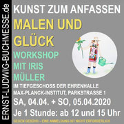 Workshop MALEN UND GLÜCK mit Iris Müller