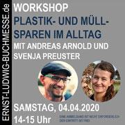 Workshop PLASTIK- UND MÜLLSPAREN mit Andreas Arnold und Svenja Preuster