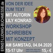 Workshop VON DER IDEE ZUM TEXT mit Lily Konrad