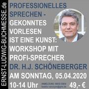 Workshop PROFESSIONELLES SPRECHEN mit Dr. Hans Josef Schöneberger