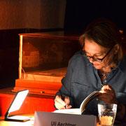 Die Bach runter / Uli Aechtner / Sprudelhof, Foto Petra Ihm-Fahle, Ernst-Ludwig-Buchmesse 2019
