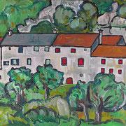 Haus am Berg, 2013, 30x40cm