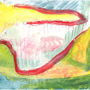 Versunkenes Land, 2004, 32x24cm