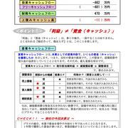 決算診断書サンプル2