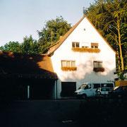 Bauernschule。この建物の中に事務室や舞台があった。今はもうない