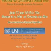 Modern ART Comtempory Exhibit, juin 2010 (Cavalaire sur mer, région PACA)