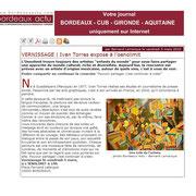 Bordeaux-Actu, mars 2010