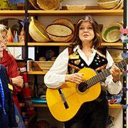 Margot Grados Ramos singt spanische Lieder