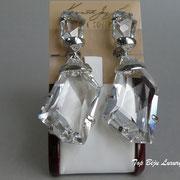 П-1026.Шикарные серьги-клипсы от Кеннет Джей Лейна, лимитированная коллекция. В таких же Леди Гага блистала на многих обложках журналов.Позолота 24К, камни Сваровски. Размер-7.5х3см.Идеально сидят на ушке, не отягощают.ПОВТОР ПОД ЗАКАЗ