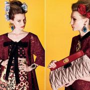 Реклама новой коллекции MIU MIU , 2012