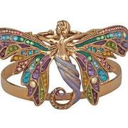 """KF-85. Браслет из коллекции 2012 года"""" Saphaedra Butterfly Goddess"""". Ювелирный сплав под античное серебро или золото в наличии, эмали, камни Сваровски. Цена 1600грн"""