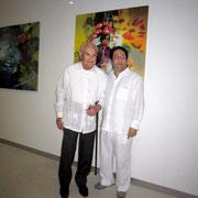 Don Alberto Araujo Presidente y fundador del Hotel Las Americas, Maestro Rafael Espitia